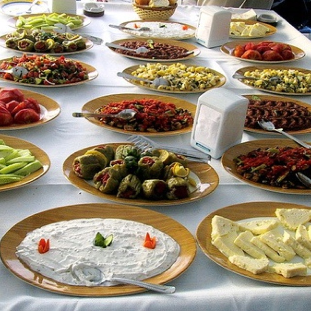 Turkish cuisine...