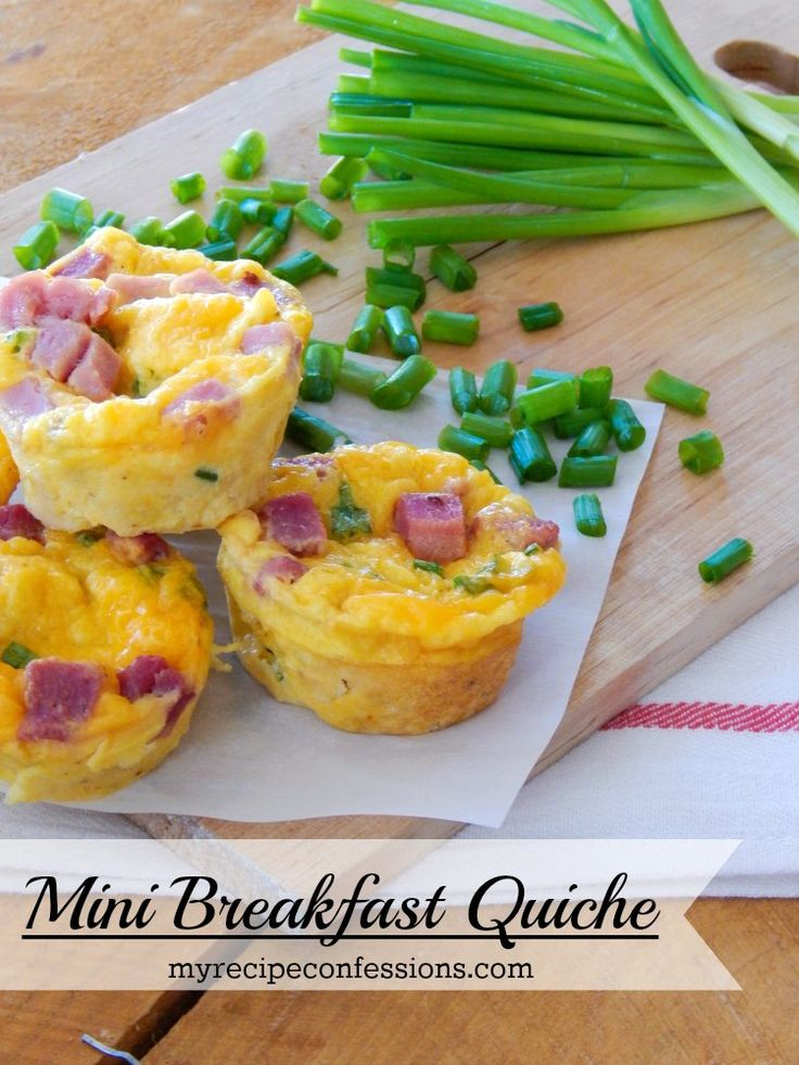 I am going to be making Mini Breakfast Quiche for our Christmas Breakfast tomorrow morning. What these babies lack in size, they definetly make up for in flavor! This recipe is the perfect way to u...