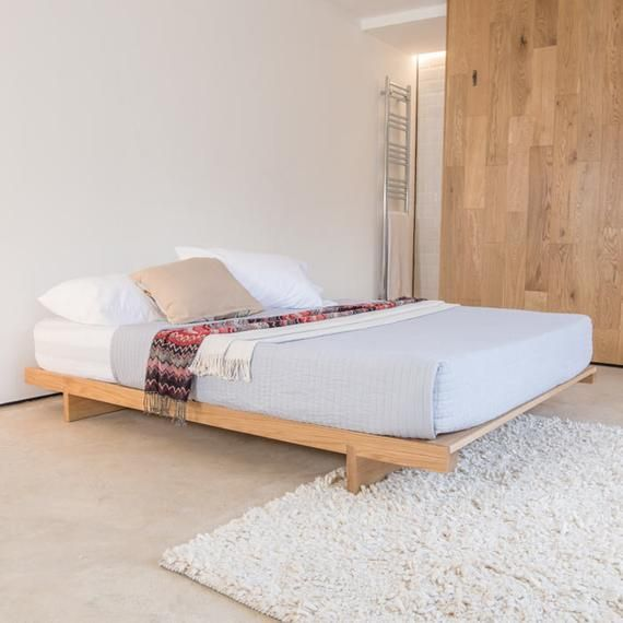 Low Fuji Attic Platform Wooden Bed Frame By Get Laid Beds With