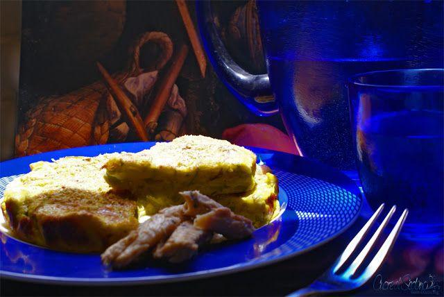 Tortino ai Filetti di Sgombro con Zucchine alla Curcuma - Chef ASDOMAR