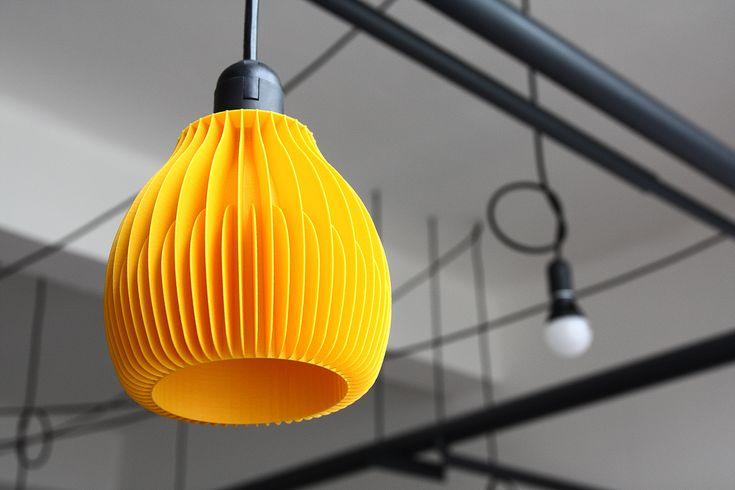 3D printed lighting by martin zampach