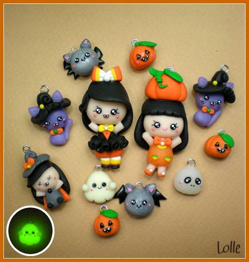Personnages en p te fimo pour halloween halloween - Personnage en pate fimo ...
