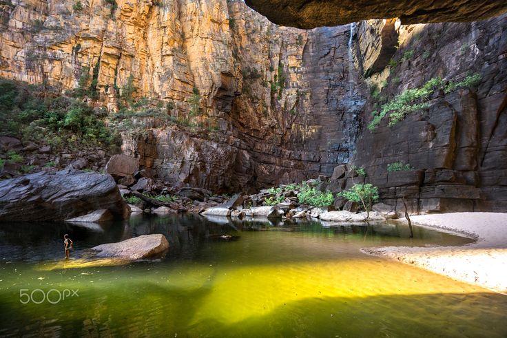 Jim Jim Falls - The iconic Jim Jim Falls, Kakadu National park, Australia