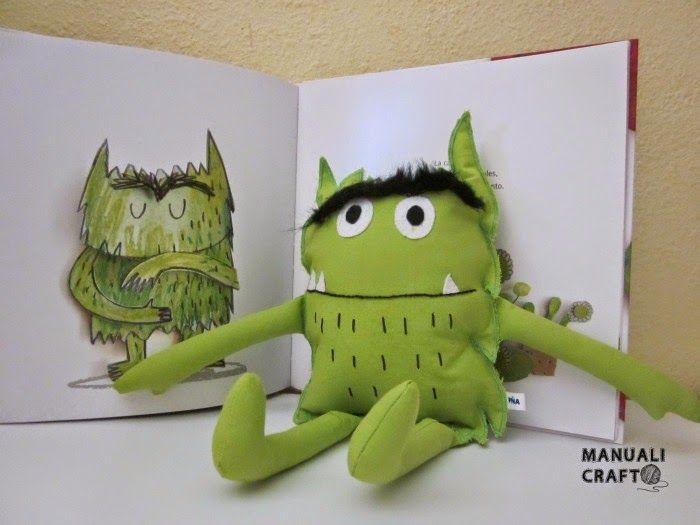 El monstruo de colores   Manualicraft - Amigurumi, scrap y costura creativa