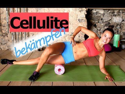 Cellulite bekämpfen - Workout - Blackroll Übungen - Schöne Beine - Foamrolling - Faszientraining - YouTube