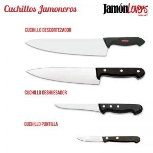 ¿... Y tú, cuales usas?  Tipos de cuchillo para cortar #Jamón