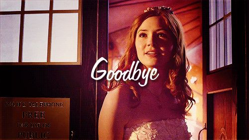 Confession:  I thought I was ready for the Ponds leaving.  I was wrong.
