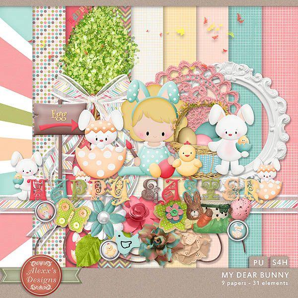 My Dear Bunny Kit by Alexx's Designs