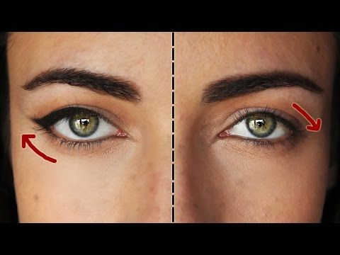 How To Lift Droopy Eyes: The Ultimate Cat Eye | MakeupAndArtFreak - YouTube