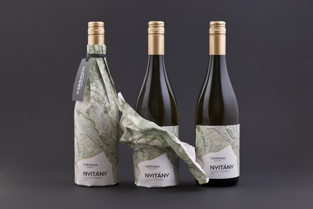 Csernyik pince - Nyitány Wine Label on Packaging of the World - Creative Package Design Gallery