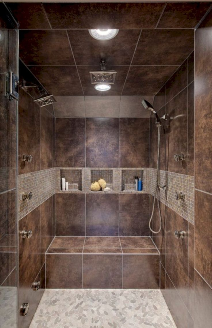outstanding 48 Charming Bathroom Shower Tile Ideas