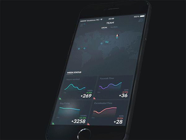 Squadlance concept on Behance
