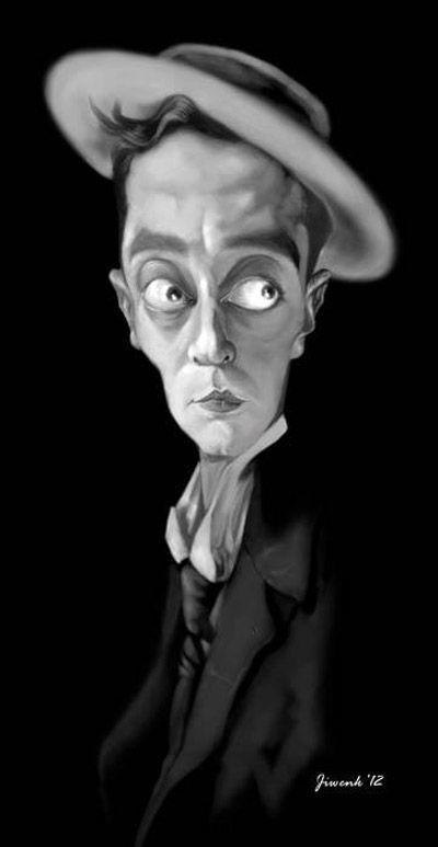 Buster Keaton - famoso actor, guionista y director estadounidense de cine mudo cómico