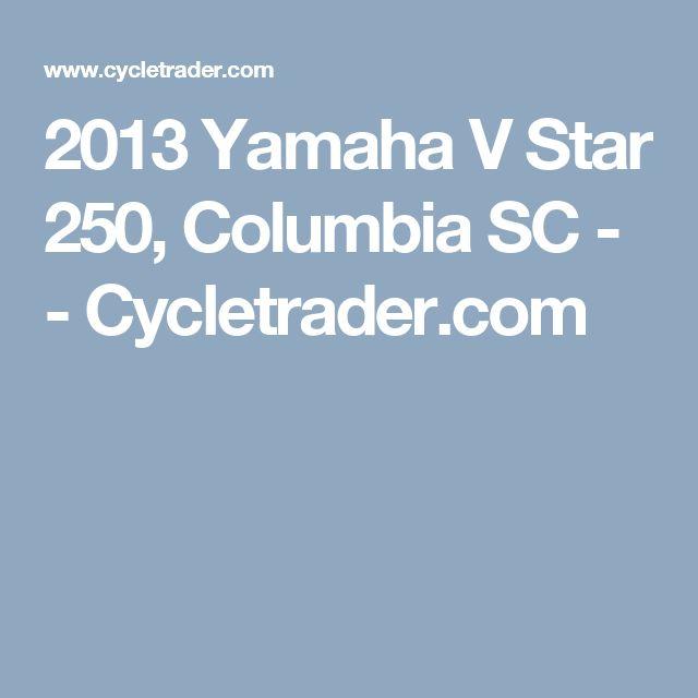 2013 Yamaha V Star 250, Columbia SC - - Cycletrader.com