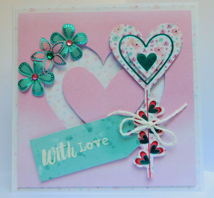 """Inspiration using our """"Love and Kisses"""" kit - 21"""