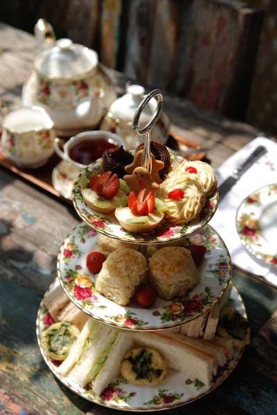 High Tea at Biku, Seminyak, Bali - Pull up a pew for coffee and a tarot reading at the fantastical joglo (teak house) that is Biku, a gorgeous destination cafe #LetsGoHoloHolo