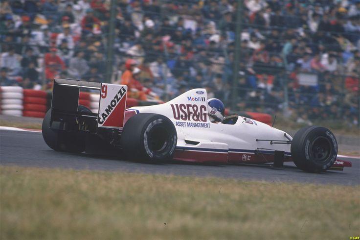 Derek Warwick Arrows A11 Suzuka 1989