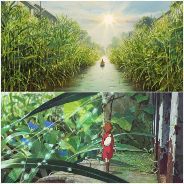 Arrietty! Wouldn't mind being this tiny for a day, or two.