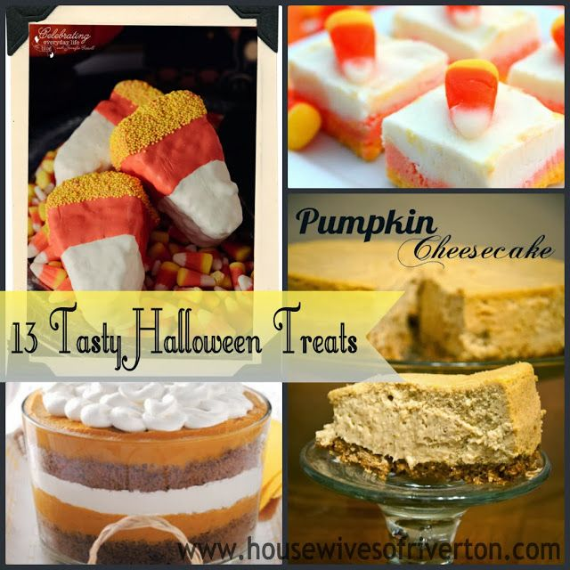 The REAL Housewives of Riverton: 13 Tasty Halloween Treats!