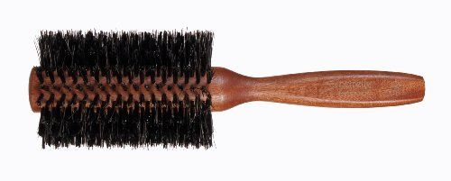 """Spornette Italian Double Density Boar Bristle Brush, 2.75-Inch Diameter by Spornette International. $18.79. Great for longer hair. 2.5"""" reinforced boar bristles. Italian brushes feature the finest wood and boar bristles. Spornette's Italian 2-3/4"""" diameter reinforced double concentrated boar (50% more rows) bristle brush.. Save 33% Off!"""