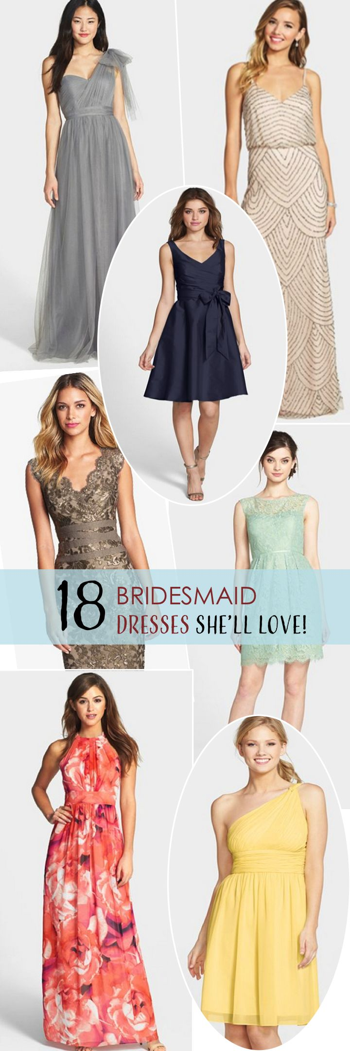 17 Best images about Bridesmaid Dresses on Pinterest - Mismatched ...