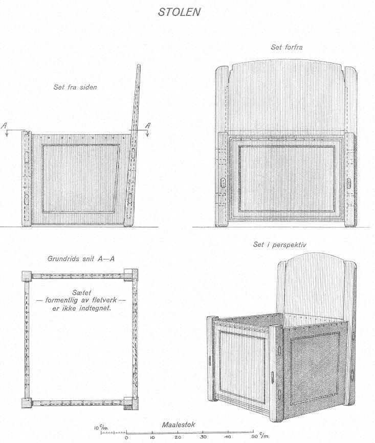 Oseberg Chair
