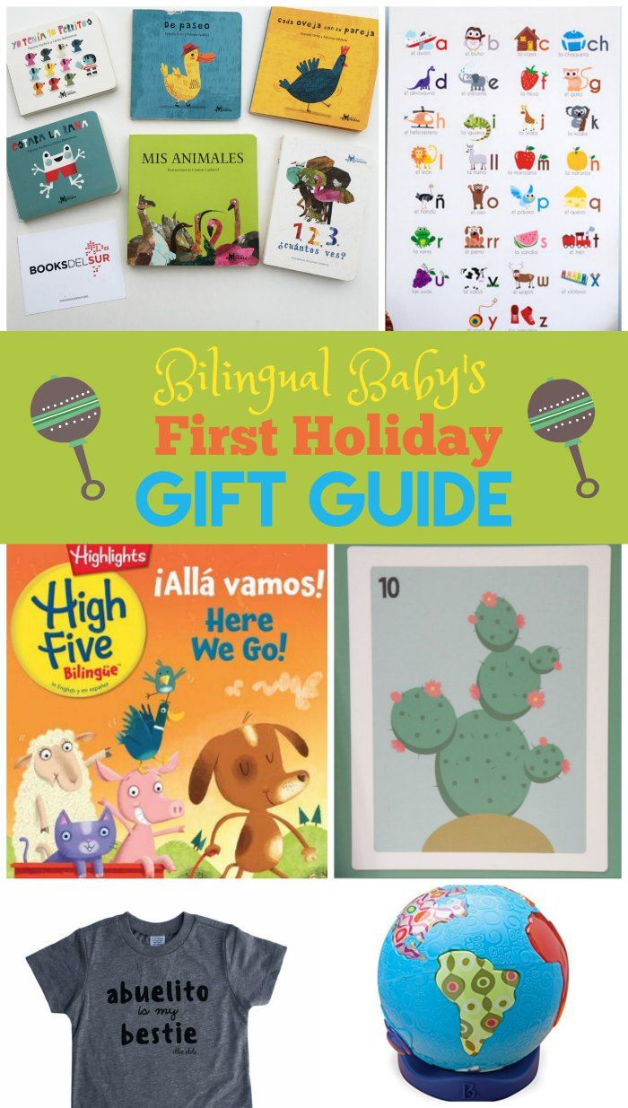 Best Holiday Gifts For Bilingual Babies