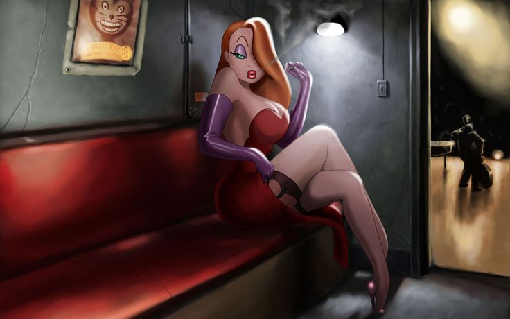 This Jessica Rabbit Wallpaper wallpaper, share it with your friends