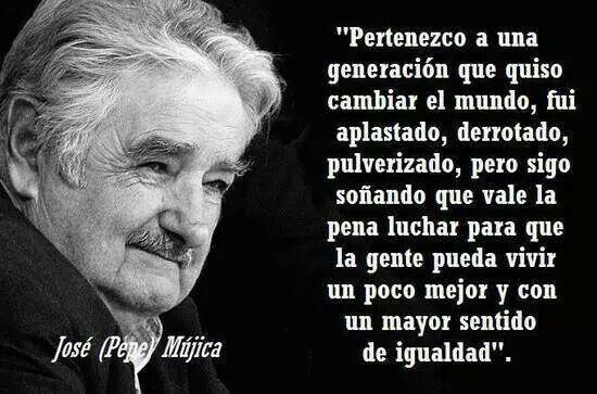 José Mujica Presidente De La República Oriental Del