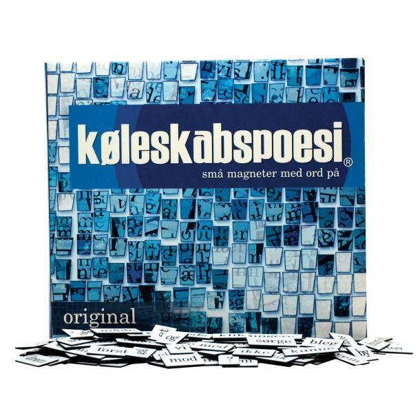 Original køleskabspoesi på dansk. Læs mere om produktet med bloggen frubruun.dk