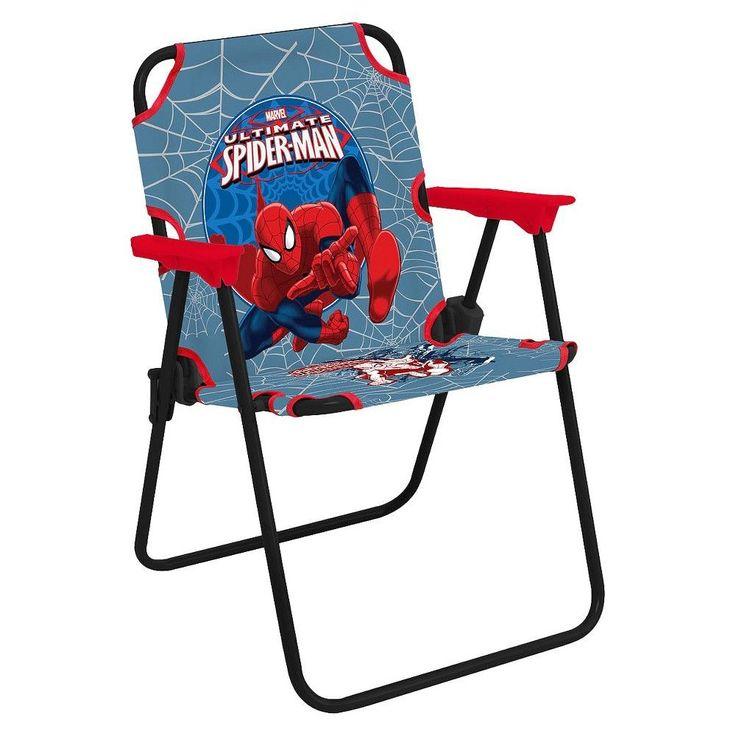 Marvel Kids Flat Fold Chair - Multicolor,