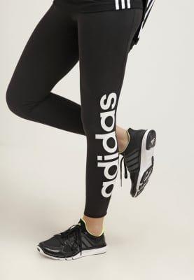 Auf dieses Basic kannst du nicht verzichten. adidas Performance ESSENTIALS LINEAR - Tights - black/white für 27,95 € (12.10.16) versandkostenfrei bei Zalando bestellen.