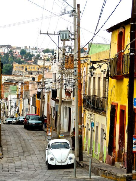 Streets of Zacatecas Photo by Guadalupe Reyes -- National Geographic Your Shot