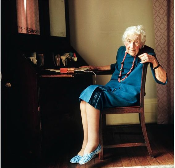 Agatha Christie by Lord Snowdon