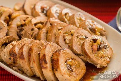 Receita de Lombo com maçã especial em receitas de carnes, veja essa e outras receitas aqui!