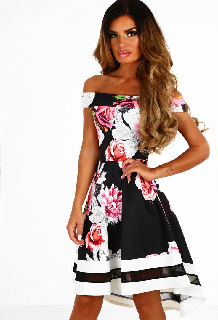 Pink and black dresses uk brands