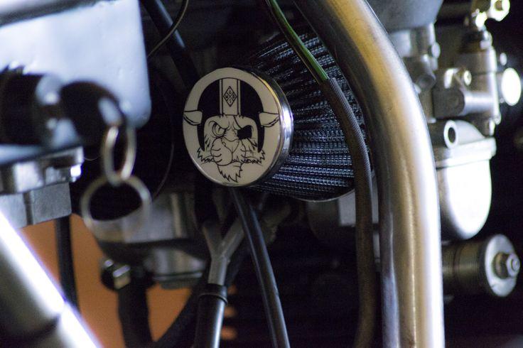Entrophy detail. Suzuki GSX. Custom. Cafè racer. Entrophy motorbike