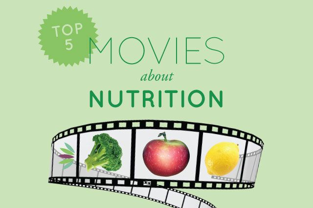 Top 5 Movies About Nutrition. The following movies are some of my favorites, dramatically or comically highlighting how to eat healthy and steer clear of factory farmed meats and other health hazards