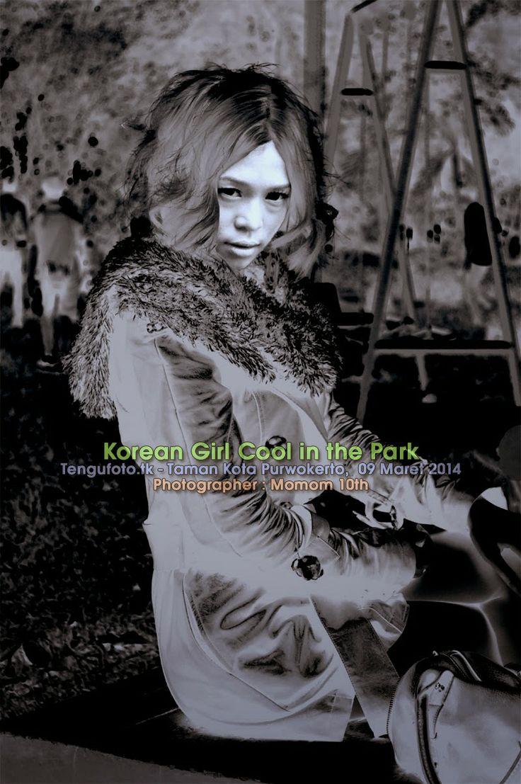 Korean Girl Cool in the Park -  Photographer : Momom 10th Fotografer Banyumas / Fotografer Purwokerto / Fotografer Indonesia
