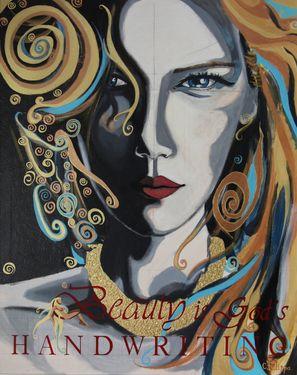 "Saatchi Online Artist CHRISTINA FILIPPA; Painting, ""Beauty is God's Handwriting"" #art"