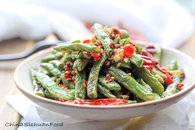 Dry-fried Green Beans-less Oil Version – China Sichuan Food