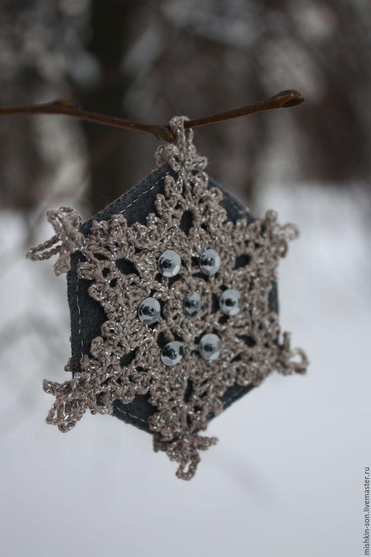 """Купить Снежинки """"Хрустальные"""" - снежинки, купить новогодний подарок, новогодний декор, праздничные украшения"""