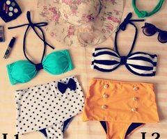 NCBotique | High Waist Swimwear |