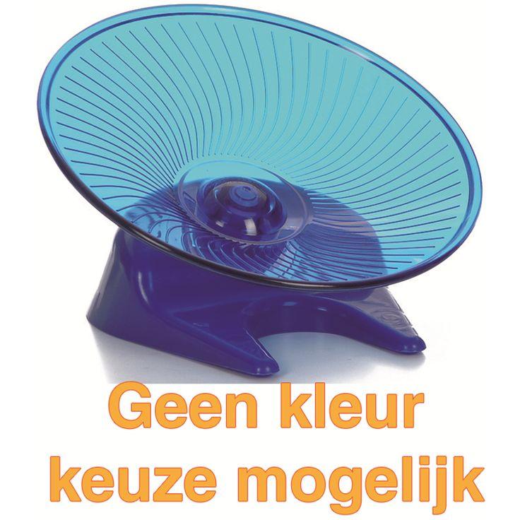 De Flying Saucer is een futuristische uitvoering van de wel bekende hamster loopmolen. De Flying Saucer onderscheidt zich van andere loopmolens door zijn vorm, maar ook zijn veiligheid.