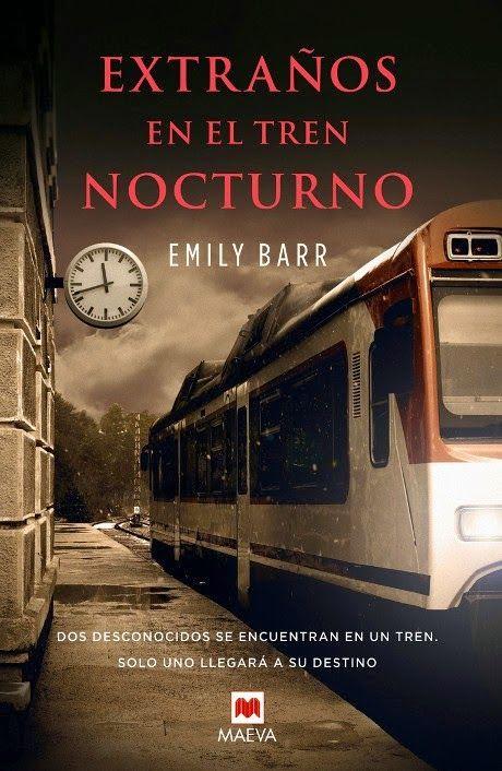 Dos desconocidos se encuentran en un tren: sólo uno llegará a su destino. Para saber si está disponible en la biblioteca, pincha a continuación: http://absys.asturias.es/cgi-abnet_Bast/abnetop?SUBC=441&ACC=DOSEARCH&xsqf01= emily+barr+extraños+tren