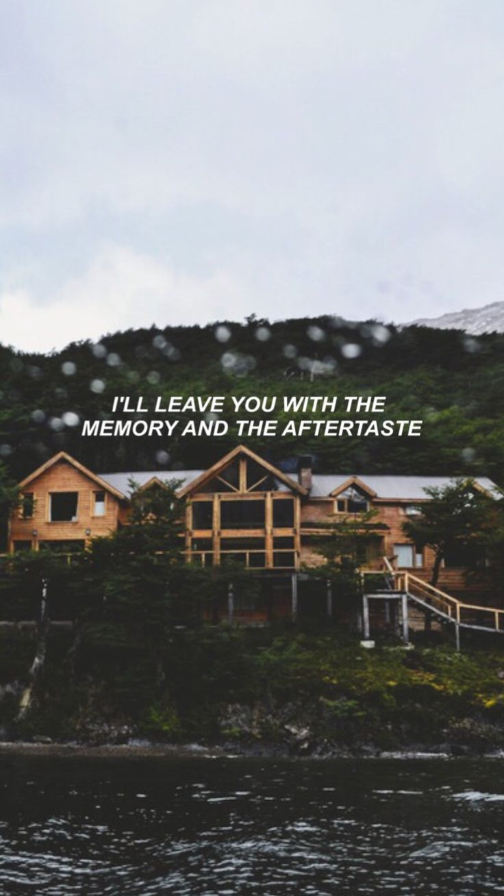 aftertaste - thinking about you..