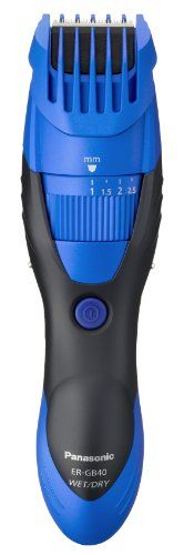 Panasonic ER-GB40 Hair and Beard Trimmer Wet/Dry with 19 Adjustable Settings, Blue Panasonic http://www.amazon.co.uk/dp/B009XRA3Z8/ref=cm_sw_r_pi_dp_Ypfswb13HM9H6