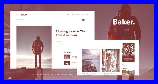 Blog Blogging Bootstrap Clean Creative Customize Design Envato Free Nulled Theme Html5 Minimal Modern Ph In 2020 Blog Template Psd Templates Personal Blog