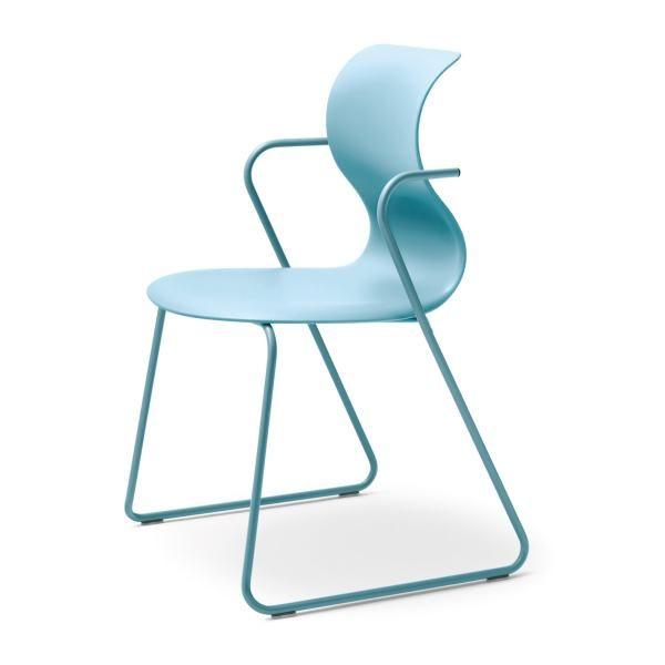 PRO 6 Gleitkufengestell, Sitzsysteme, Bürostuhl, Bürostühle, Stuhl, Stühle,  Konferenzstuhl,