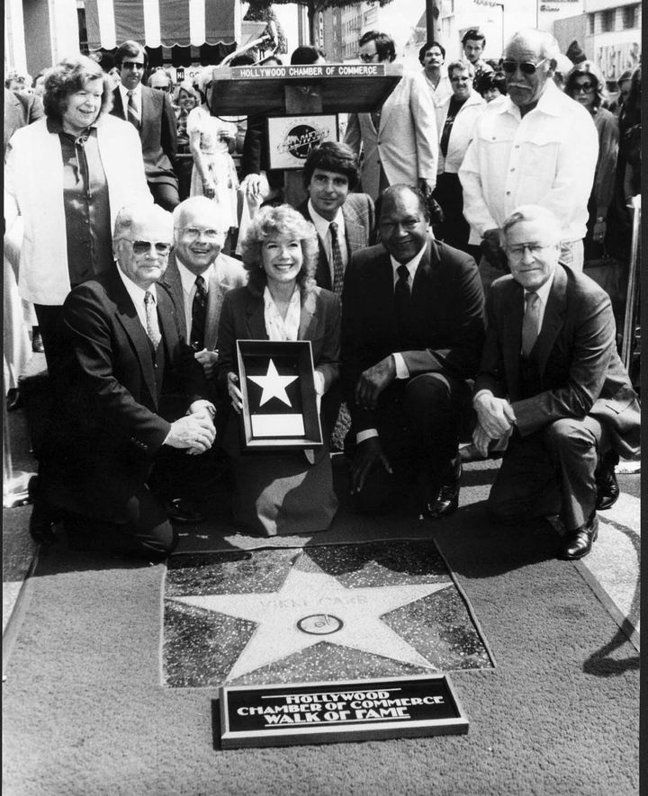 Vicki Carr at Hollywood Walk of Fame